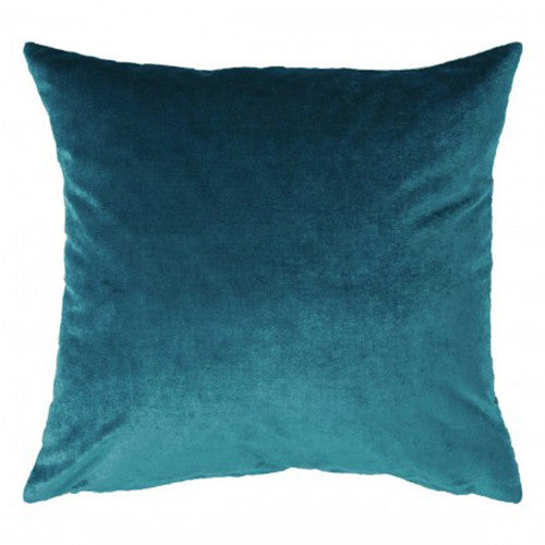 Peacock Velvet Cushion