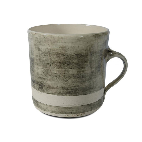 Straight Mug Black Beach Sand