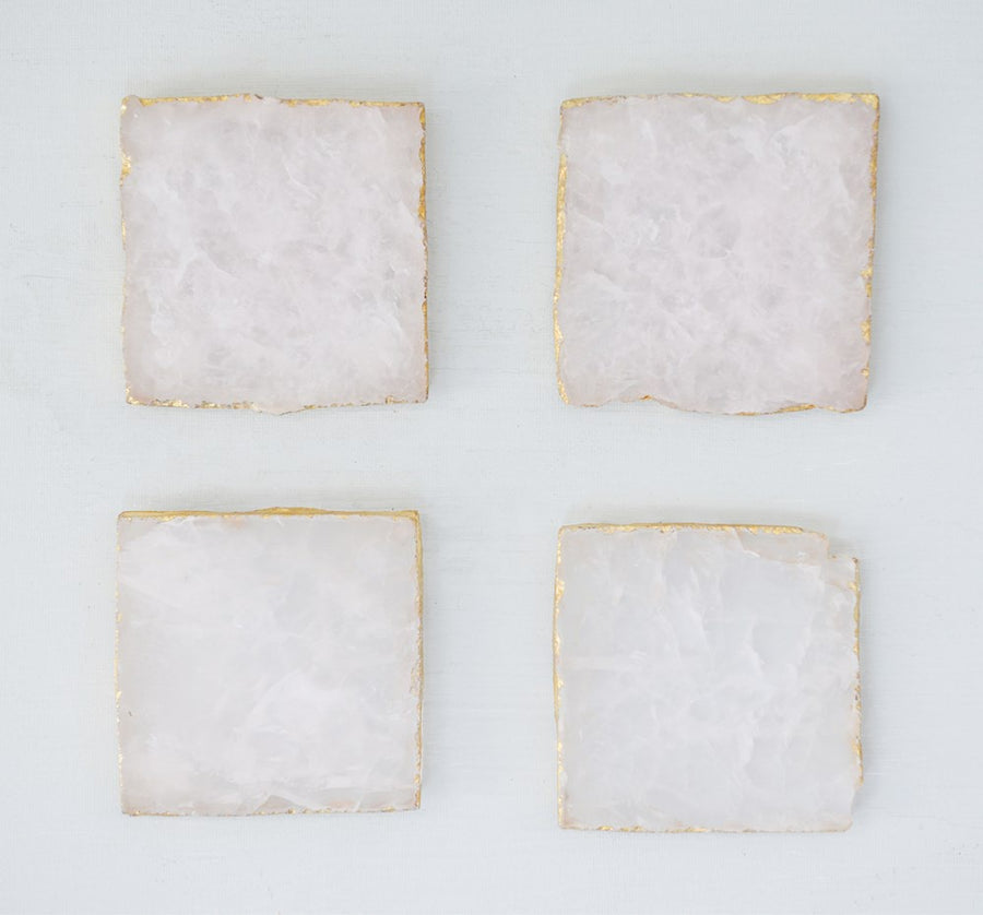 Square Agate Coasters