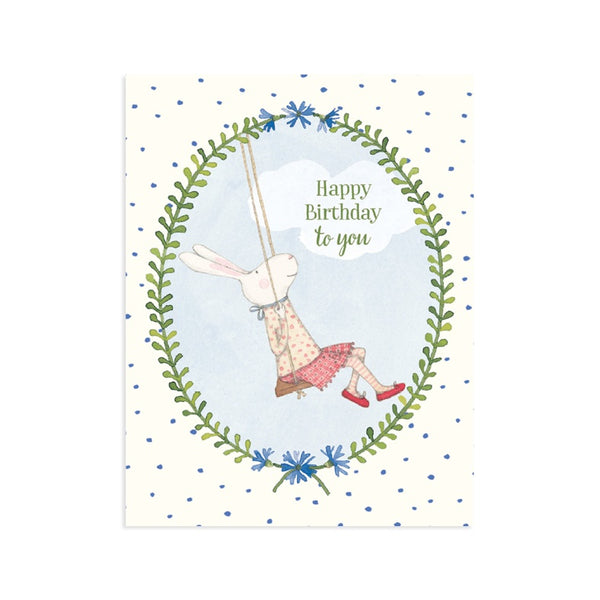 Happy Birthday Swing Card