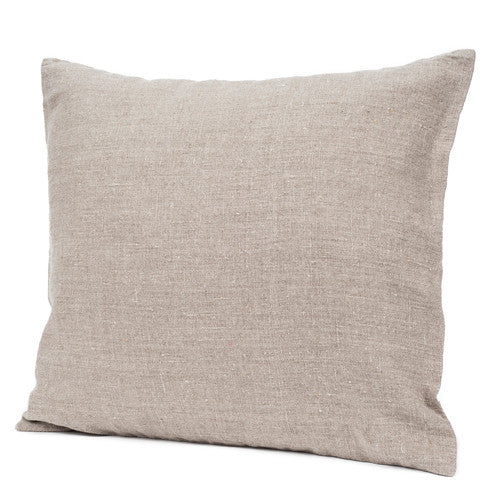 Stonewashed Linen Cushion Natural