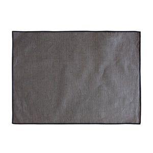 Coated Linen Placemat Granite