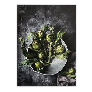 Artichokes in Bowl Canvas Print