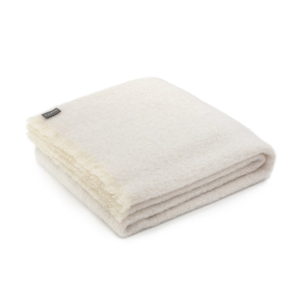 Alpaca Sandy Throw