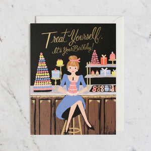 Treat Yourself Birthday Card