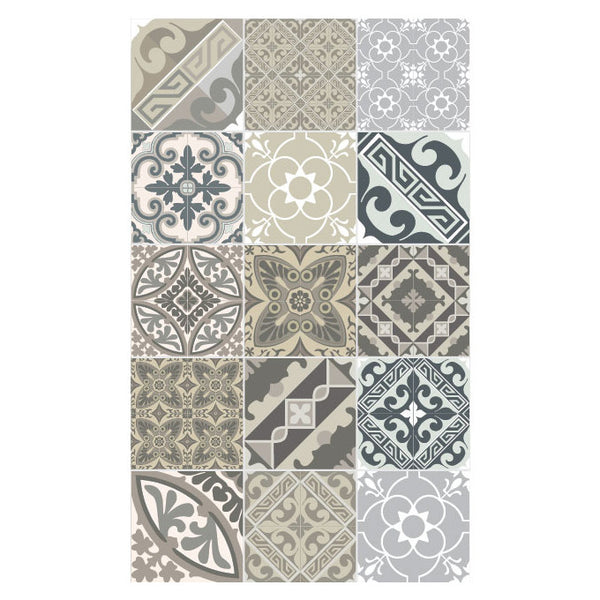 E4 Eclectic Taupe Floor Mat