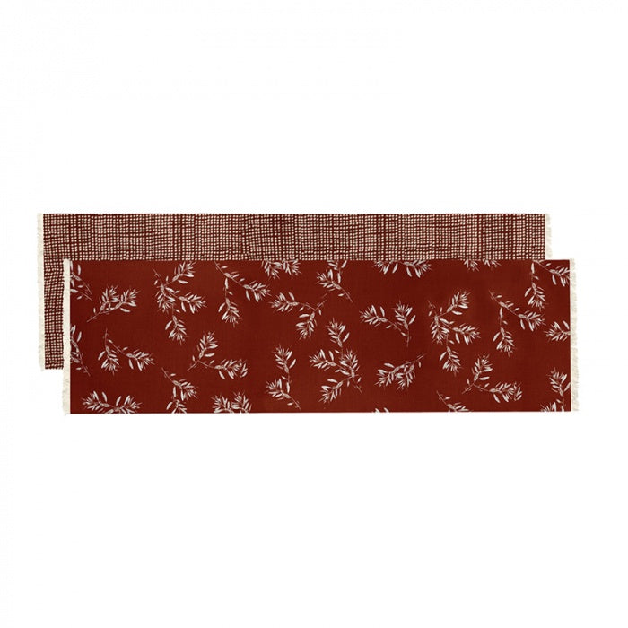 Olive Grove Table Runner Terracotta