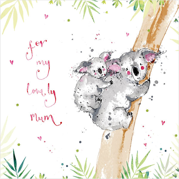 For My Lovely Mum Card