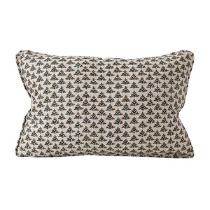 Hampi Tobacco Linen Cushion
