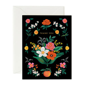 Orangerie Thank You Card