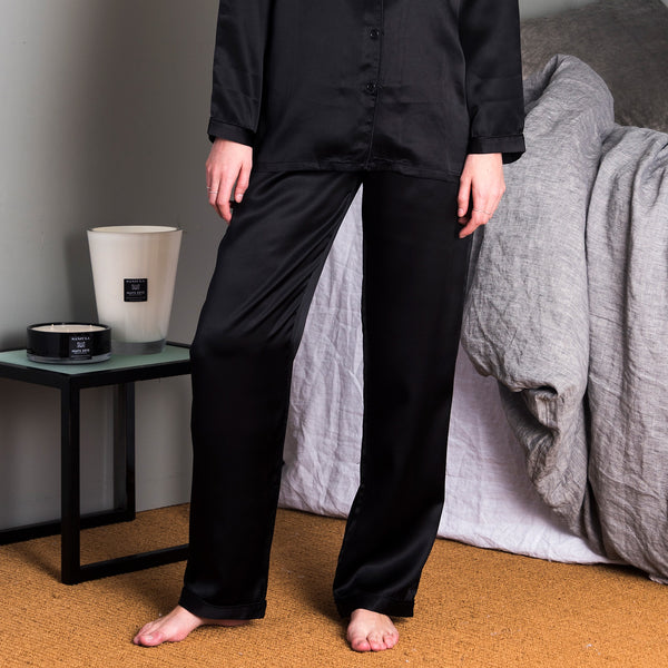 Silk Long Pants