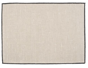 Coated Linen Placemat Natural