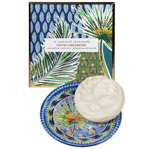 Santal Cardamome Soap and Dish