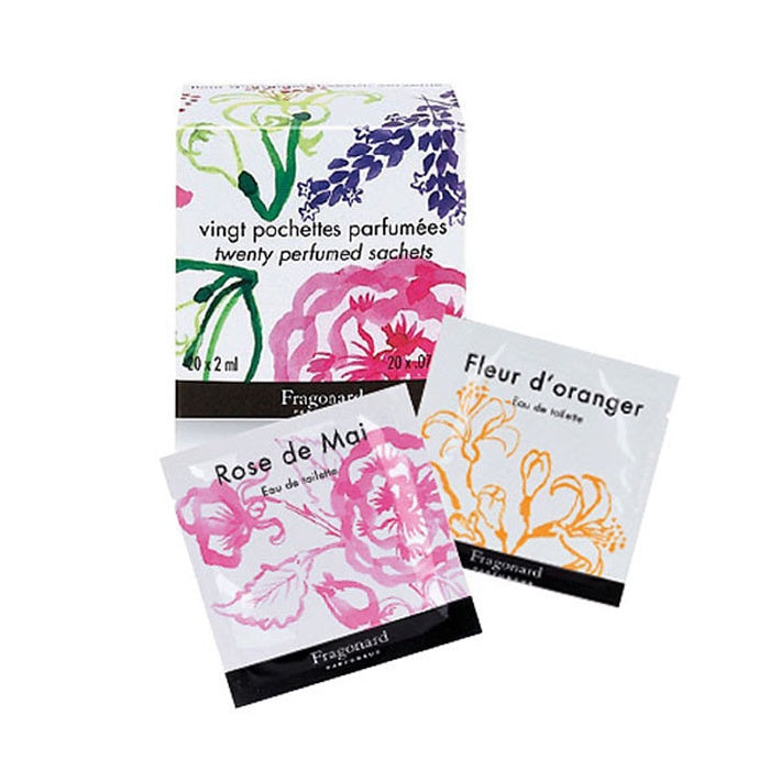 Fragonard Perfumed Sachets 20 x 2ml