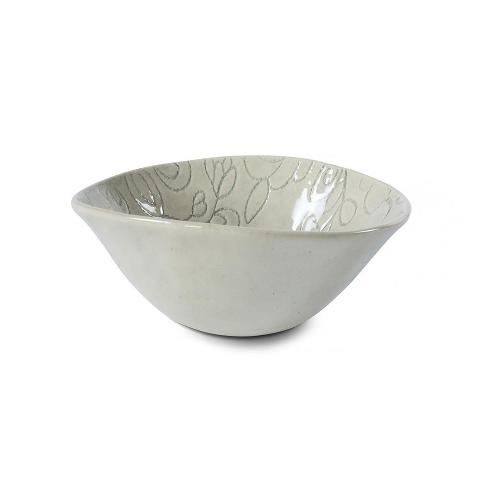 Dessert Bowl Duck Egg Lace