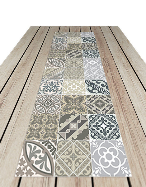 E4 Vinyl Table Runner