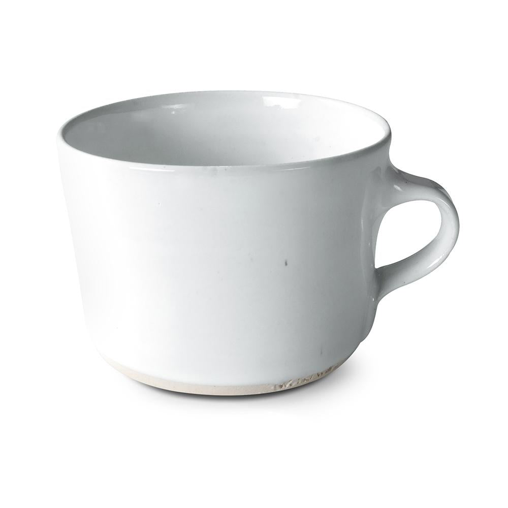 Squat Mug Plain White