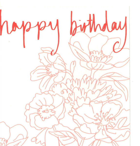 Ooh La La Birthday Card