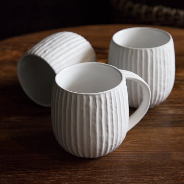 Matt Ribbed Mug