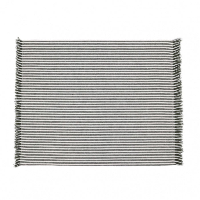 Abby Stripe Placemat Olive