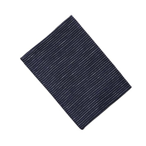 Thick Linen Kitchen Cloth Navy Pin