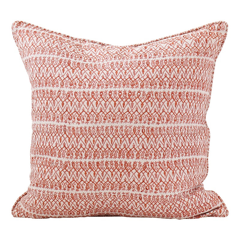 Babylon Guava Linen Cushion