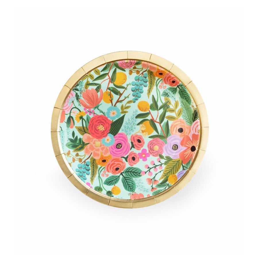 Garden Party Paper Plates Small