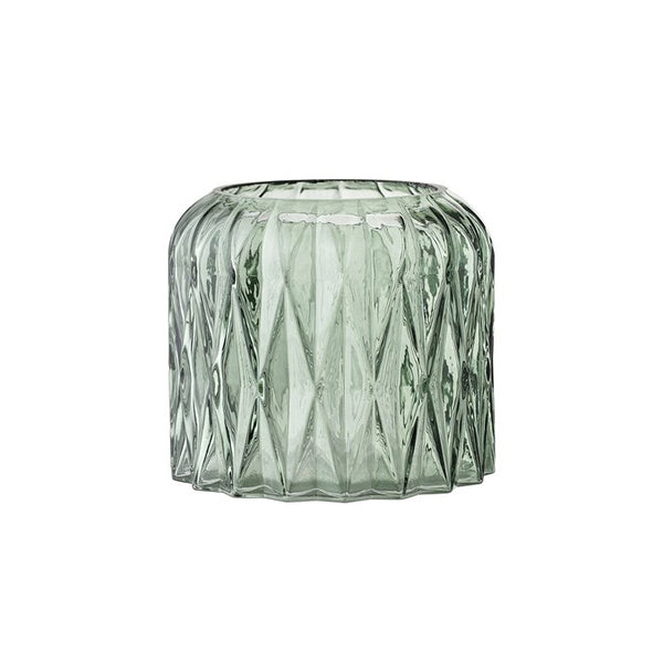 Glass Votive Green