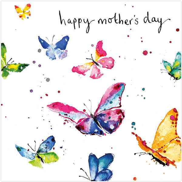 Mothers Day Butterflies Card