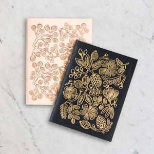 Pocket Gold Foil Notebook