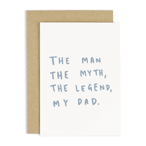 The Man, The Myth Card