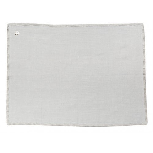 Linen Tea Towel Blue Grey