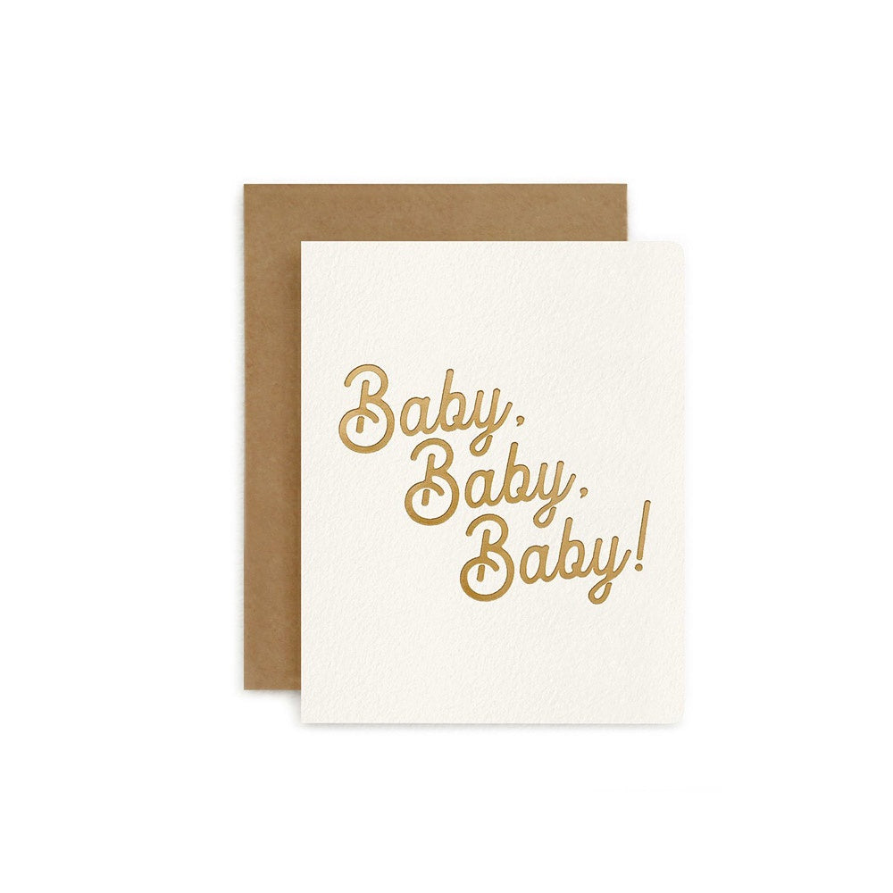 Baby, Baby, Baby Petite Card