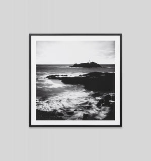Lighthouse Rock Framed Print