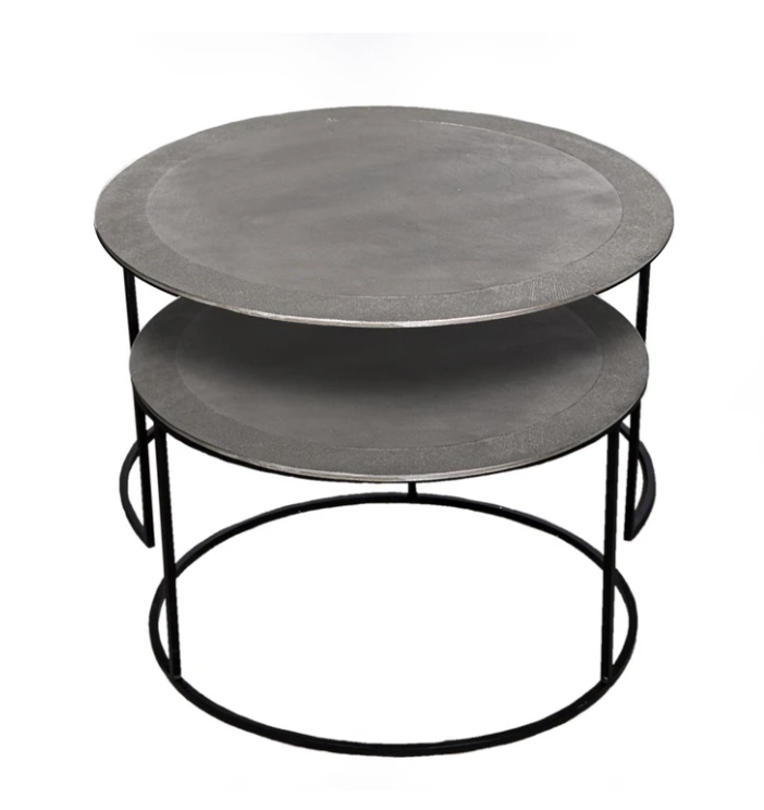 Conway Nest Coffee Table Nickel
