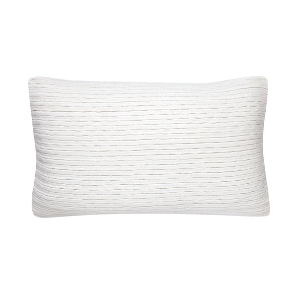 Plait Ivory Cushion