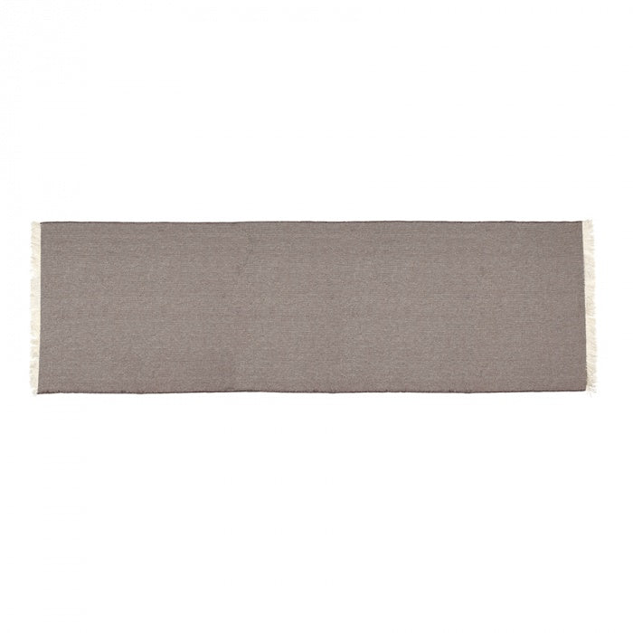 Heidi Table Runner Charcoal