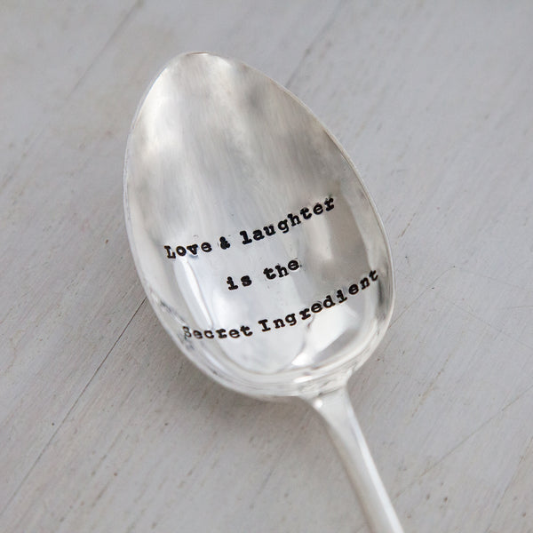 Love & Laughter Serving Spoon