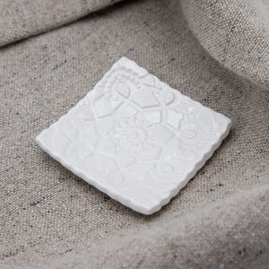 Lace Tiny Dish Square Elodie