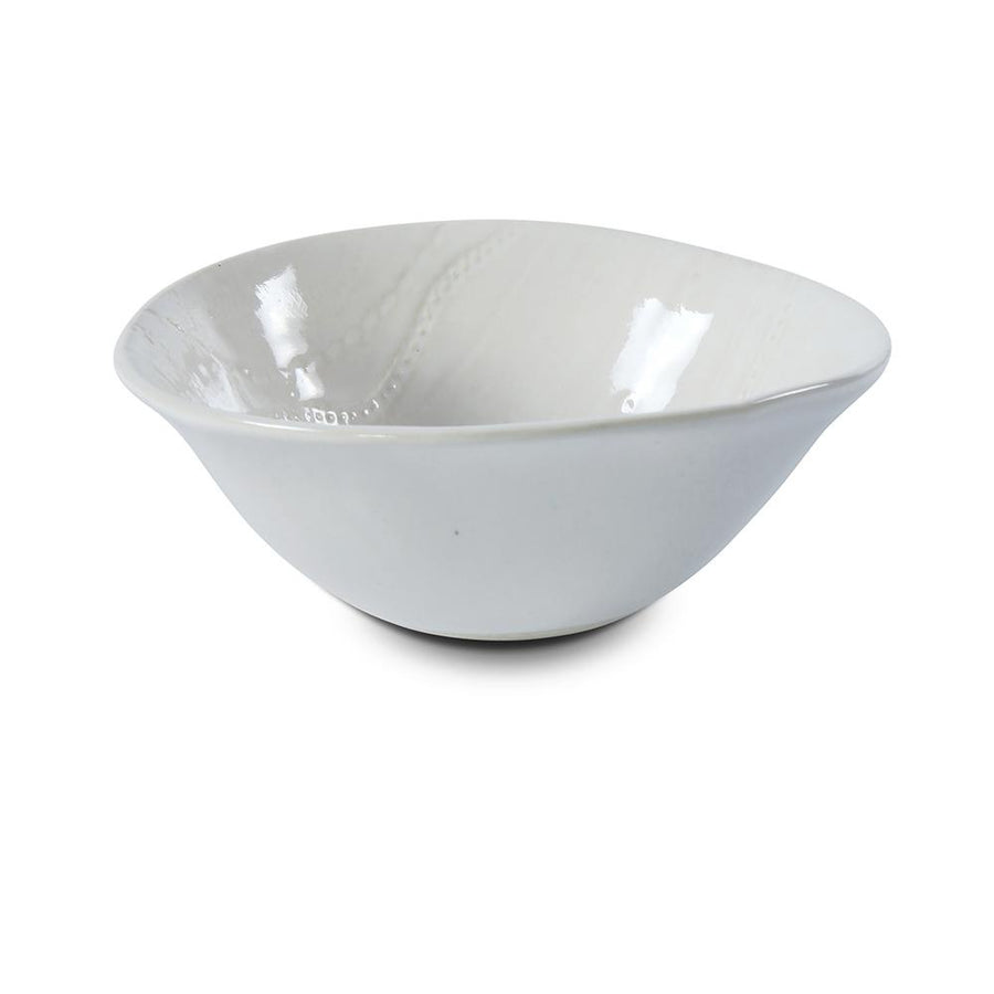 Dessert Bowl White Lace