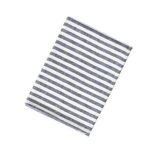 Chambray Kitchen Cloth Navy Stripe