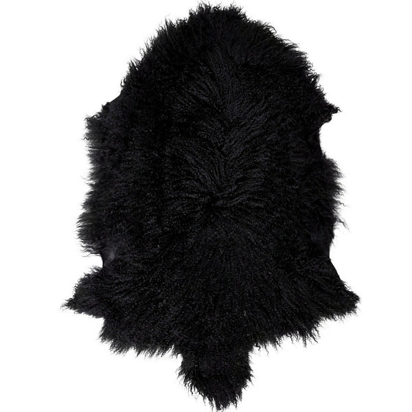 Mongolian Sheepskin Black