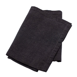 Tea towel Linen Blend Black