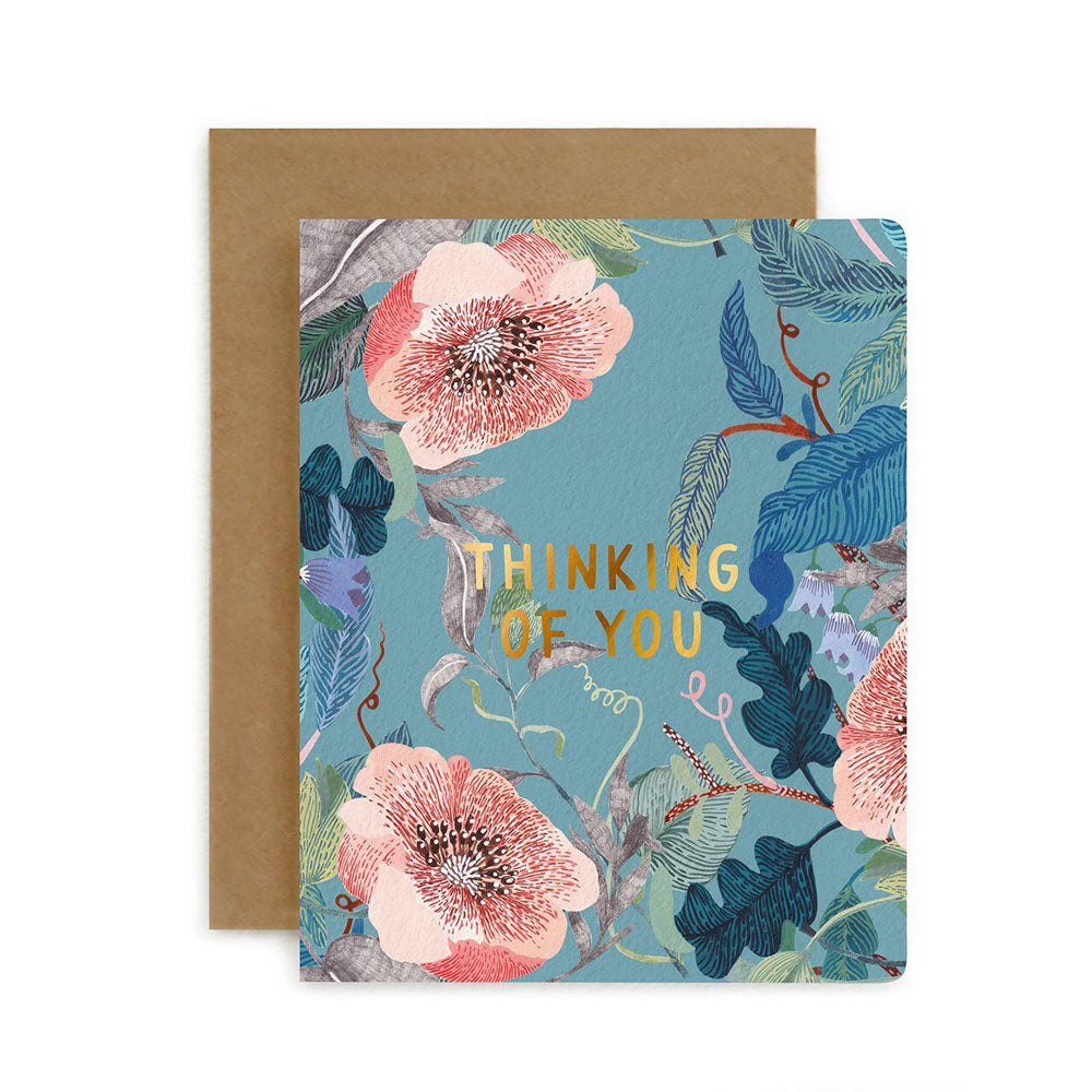 Blomstra Thinking of You Card