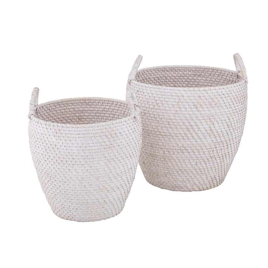 South Hampton Curved Basket
