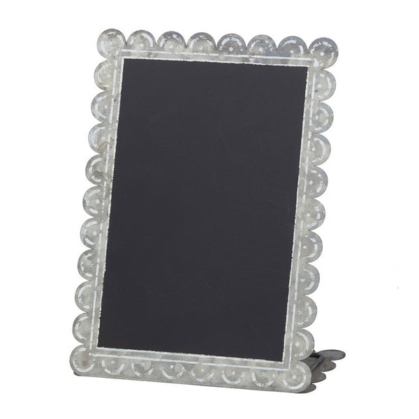 Calais Chalk Board Scalloped