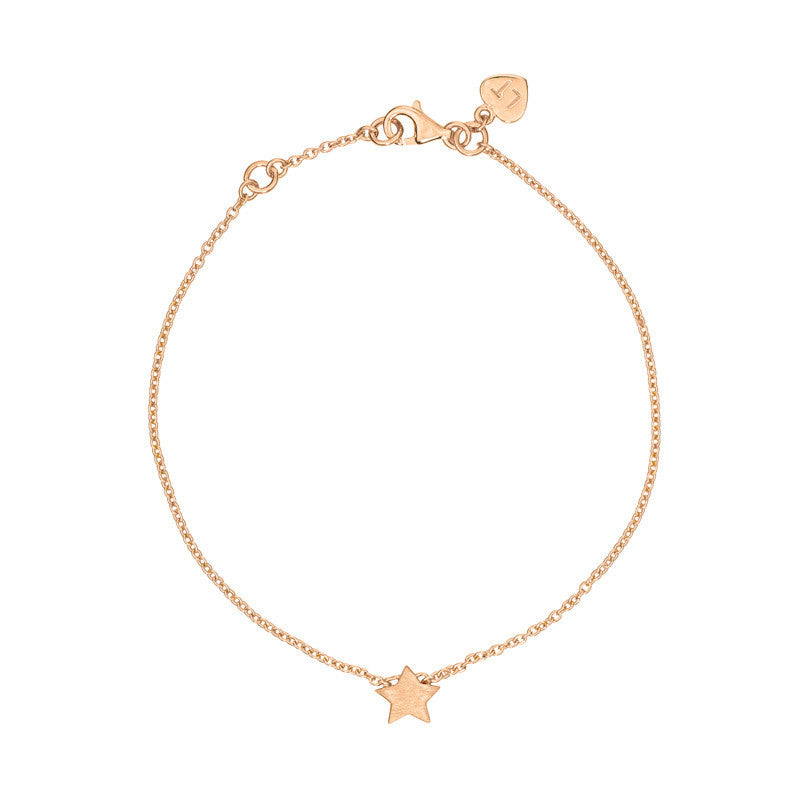 Rose Gold Plated Tiny Star Bracelet
