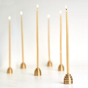 Reversible Beehive Candle Holder