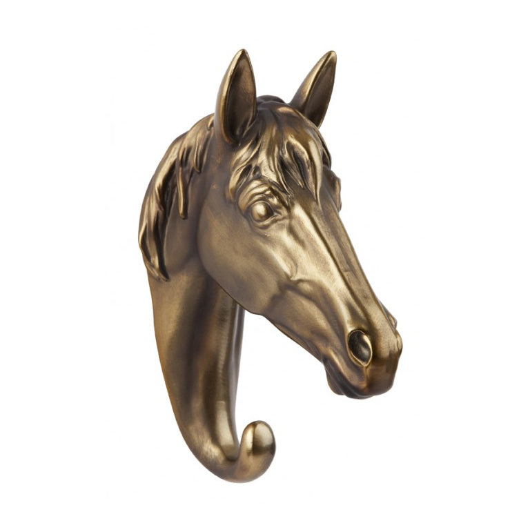 Bronze Finish Horse Hook