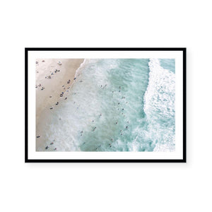 Clean Ocean Waters Art Print